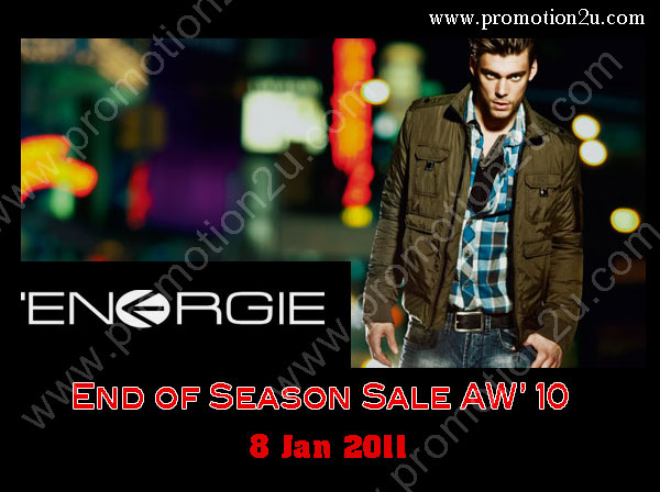 MISS SIXTY & ENERGIE End of Season Sale AW' 10 ลดสูงสุด 30 - 40%