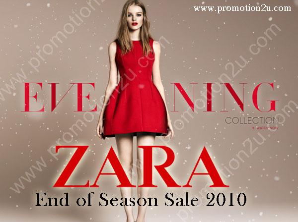 ZARA End of Season Sale 2010 30 -50% : ZARA เสื้อผ้าแฟชั่นแบรนด์ดังเซลส่งท้ายปี 53 ลด 30-50%