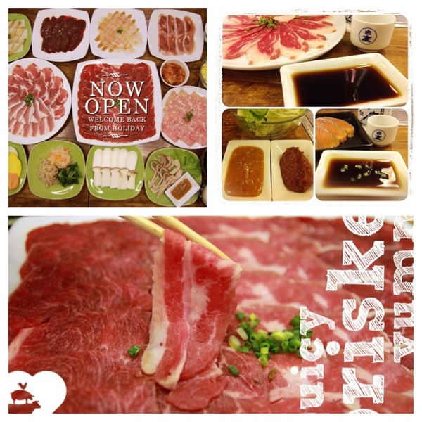 Promotion Buffet taotaan Yakiniku Paradise Come 4 Pay 3 jan 2013