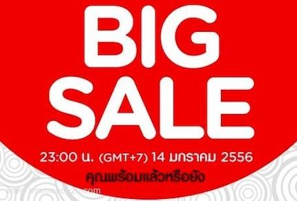 Promotion AirAsia BIG SALE Jan.2013 14 มค.นี้เตรียมจัดเต็ม!!