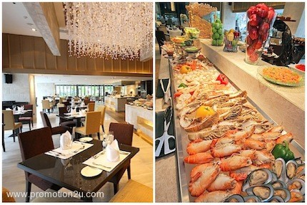 Promotion Buffet Discount 50% or Come 2 Pay 1 World Restaurant @ Grand Mercure Fortune