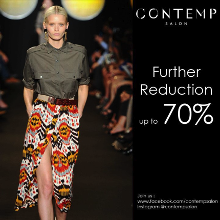 Promotion CONTEMP SALON Further Reduction Sale up to 70% [Apr.2013]