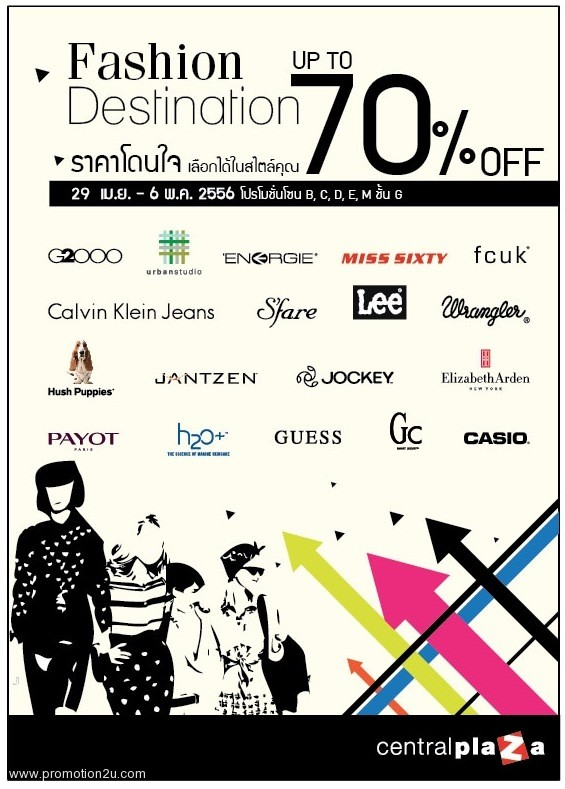 Promotion Fashion Destination Sale up to 70% off [Apr.-May.2013]