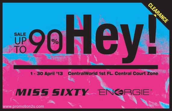 Promotion Hey! MISS SIXTY 'ENERGIE Clearance Sale up to 90% All Items [Apr.2013]