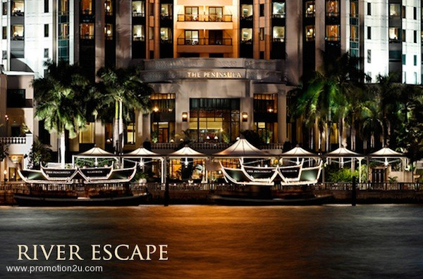Promotion River Escape Package @ The Peninsula Bangkok [Apr.-Oct.2013]