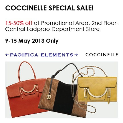 Promotion COCCINELLE Sale up to 50% off [May.2013]