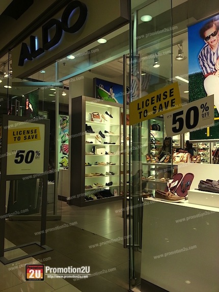 Promotion Aldo End of Season Sale 2013 up to 50% off