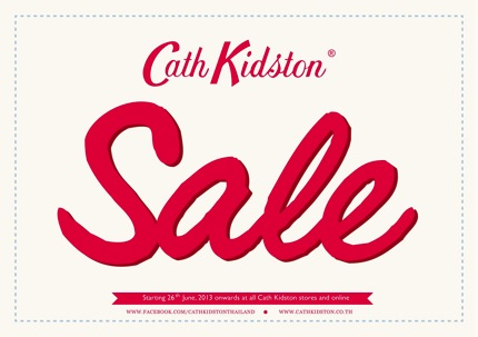 Promotion Cath Kidston Sale up to 40% off 2013