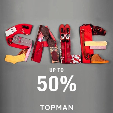 Promotion TOPMAN Sale up to 50% off [2013]