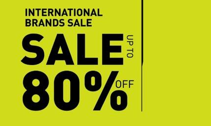 Promotion Amarin Brand Sale: International Brands Sale up to 80% off