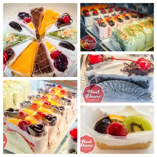 Promotion Buffet Cake & Dessert & Toast Red Dane Milk