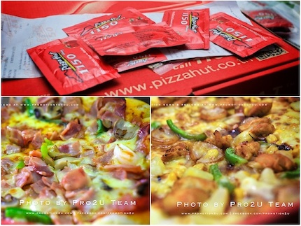 Promotion Pizza Hut WOW Double Box 199 + 99.-