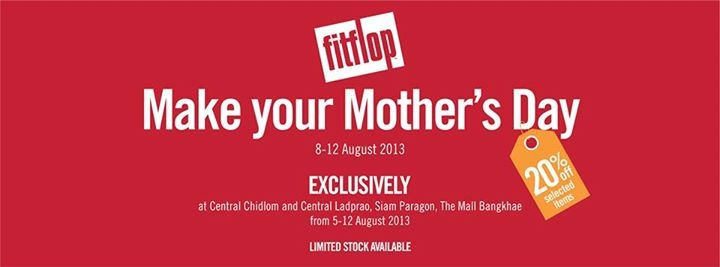 Promotion FitFlop Make your Mother's Day Sale 20% off