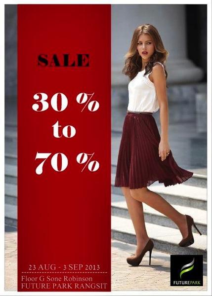 Promotion Fashion Sale up to 70% @ Future Park