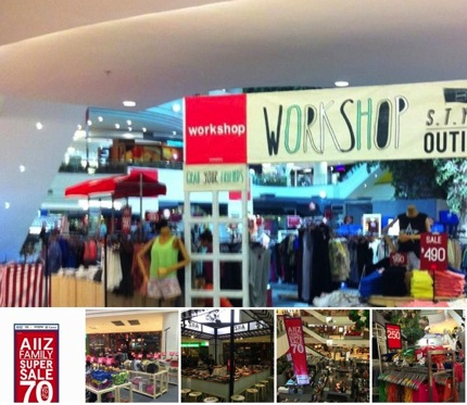 Promotion AIIZ FAMILY SUPER SALE up to 70% off @ The Mall Bangkapi