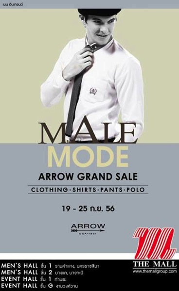 Promotion Arrow Grand Sale @ The Mall Male Mode