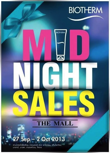 Promotion Biotherm @ The Mall Midnight Sale