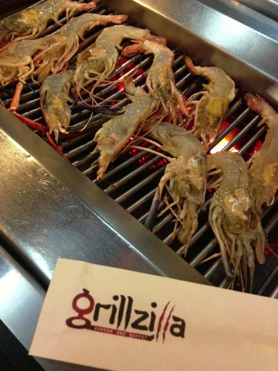 โปรโมชั่น Grillzilla Korean BBQ Buffet เทศกาลกุ้งแม่น้ำ