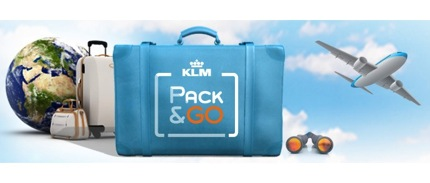 Promotion KLM Pack & Go 2013 Started 27,515.-