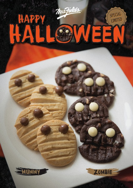 Promotion Mrs.Fields Happy Halloween Cookie Buy 5 Only 165.-