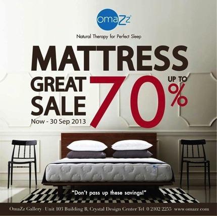 Promotion Omazz Mattress Great Sale 70% off