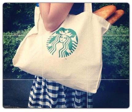 Promotion Starbucks Free Starbucks Signature Tote Bag