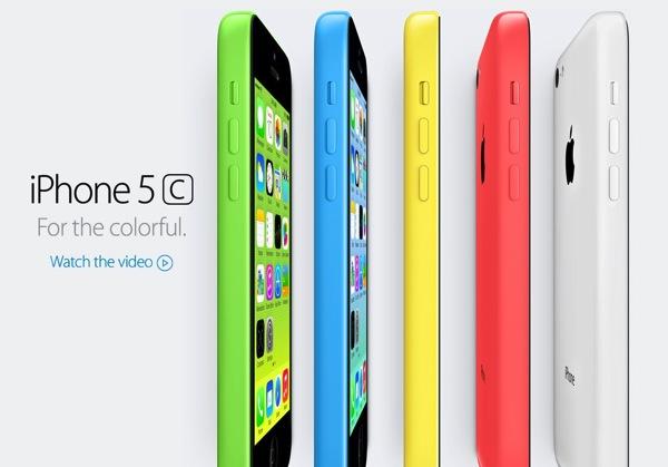 Apple iPhone 5C [Color]