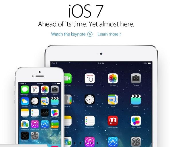 ios7 ระบบปฏิบัติการรุ่นล่าสุดของ Apple