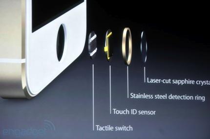 iPhone 5S Finger Print Sensor