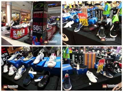 Promotion Adidas Shoes Sale 40% @ SuperSports Sale up to 50% off [Central Rama2] 5432