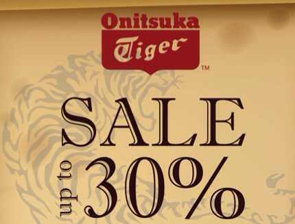 Promotion Onitsuka Tiger Sale up to 50% @ Paragon