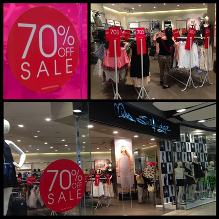 Promotion Miss Selfridge Sale up to 70% off
