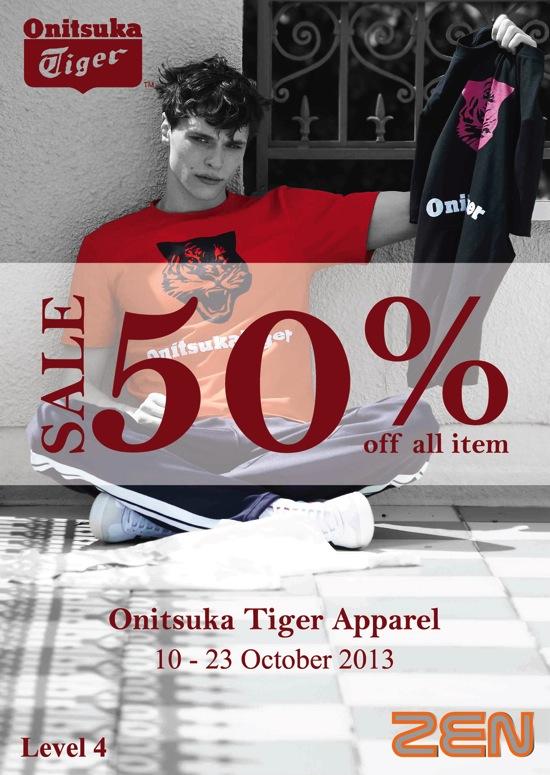 โปรโมชั่น Onitsuka Tiger ApparelSale ลดสูงสุด 50%