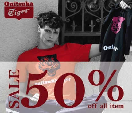 Promotion Onitsuka Tiger Apparel Sale up to 50% off