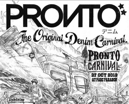 Promotion Pronto Denim Carnival 2013