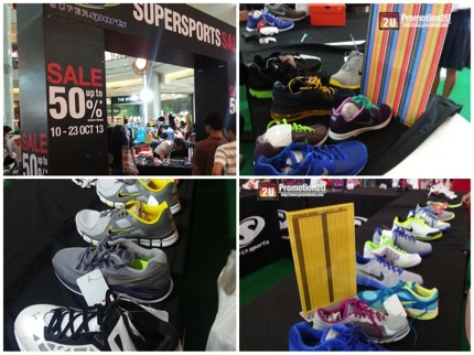 Promotion Nike Shoes Sale up to 60% off @ Supersports Sale Central Rama2