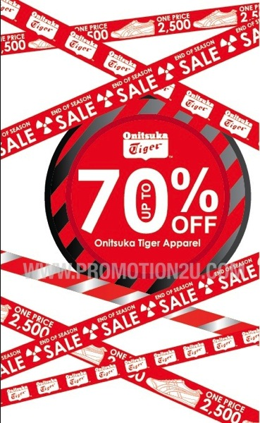 Promotion Onitsuka Tiger Clearance Sale up to 70% off @ Gaysorn Shop