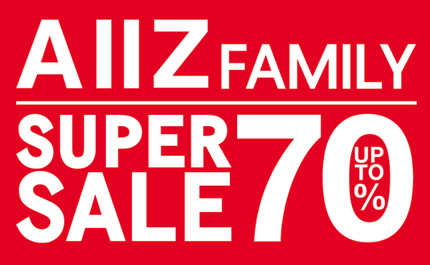 Promotion AIIZ Family Super Sale 2013 up to 70% off