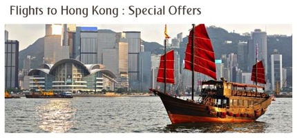Promotion Emirates Air Return Flights to Hong Kong 6,190.-