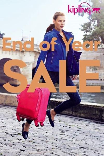 Promotion KIPLING End of Year Sale 2013