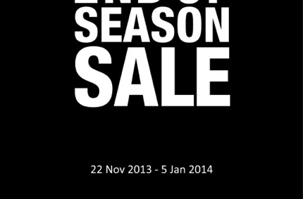 Promotion Samsonite End of Season Sale 2013 up to 50% off