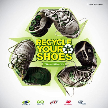 Promotion SuperSports Recycle Your Shoes 2013