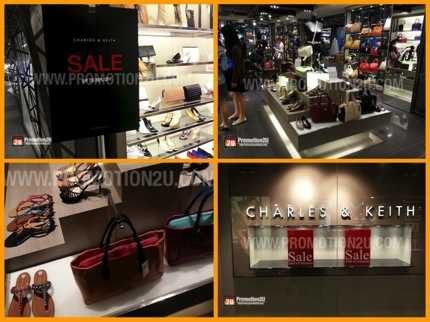 Promotion Charles & Keith End of Season Sale Dec.2013 up to 30% off