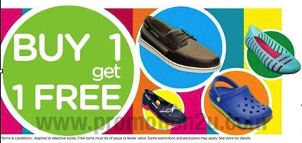 Promotion Crocs Buy 1 Get 1 Free 2013