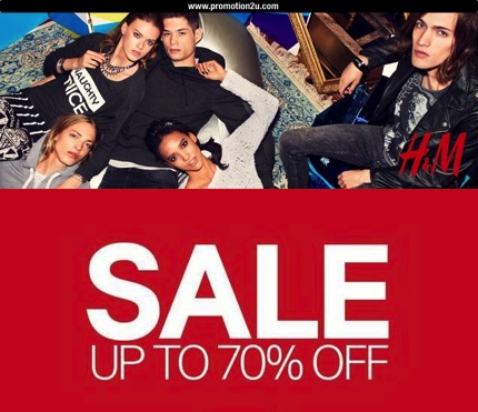 Promotion H&M End of SEASON SALE 2013 up to 70% off
