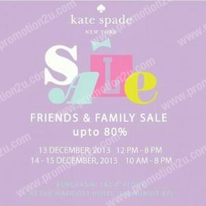 Promotion Kate Spade New York & DVF Friends and Family Sale up to 80% off