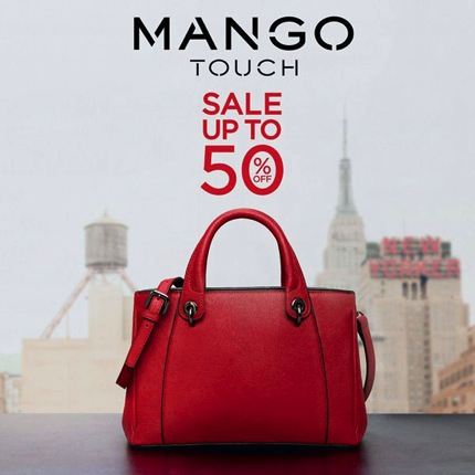 Promotion MANGO Touch End of Season Sale up to 50% [Dec.2013]