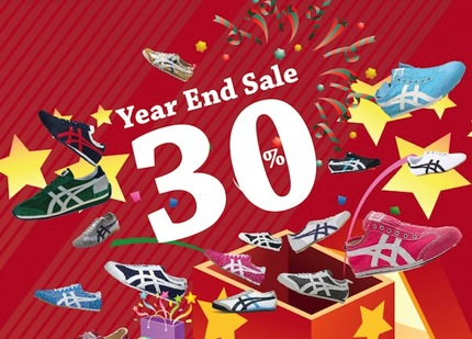 Promotion Onitsuka Tiger Year End Sale up to 30% off