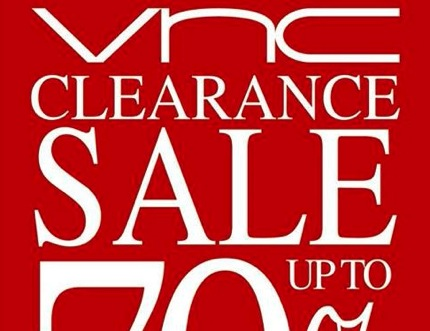 Promotion VNC Clearance Sale 2013 up to 70%