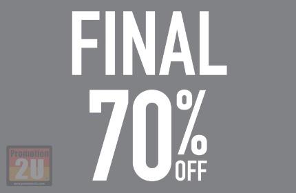 โปรโมชั่น CC Double O End of Season Final Sale ลดสูงสุด 70% (มค.59)